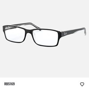 Ray-Ban black eyeglasses